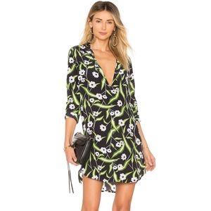 NWOT Equipment Brett Silk Floral Dress Revolve